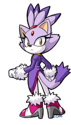 Blaze the Cat doodle by rongs1234
