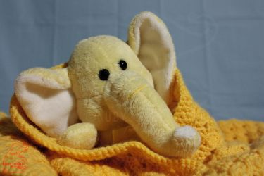 Comfy Yellophant by CelestialK