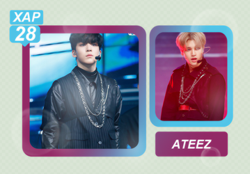 Photopack 5225 // ATEEZ. by xAsianPhotopacks