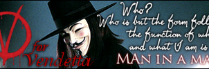 V for Vendetta by Daighre