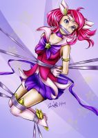 Star Guardian Lux Tied Up by sleepy-comics