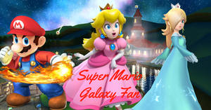 Super Mario Galaxy Fan Poster by PhantomMasterRamos89