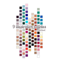 Illustration palettes by martinacecilia