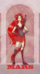 Sailor Mars : Silver Mill. by Le-Artist-Boheme