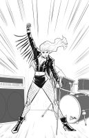 Black Canary by Supajoe