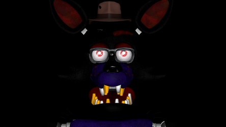 A Close Up Of My Fnaf OC (SFM) by AmanGaming1910