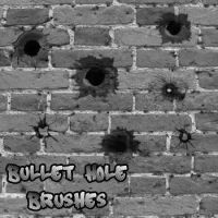 Bullet Hole Brushes by remygraphics