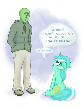 MostazaThy's Lyra Wants Some Scratching by Adequality
