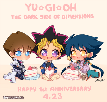 Yu-Gi-Oh DSOD - Happy 1st Anniversary 4.23 by MadelineCG