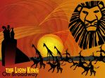 Lion king On Broadway Abstract by Samoht-Lion