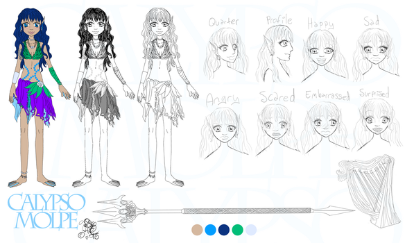 Calypso Molpe - Character Sheet by Cassie-Drey