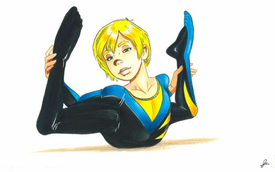 Barry Blair Bendy Boy 1 by Curious4ever