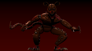 FNAC 3  Monster RAT model by AndyDatRaginPurro