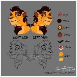 Ahadi Reff sheet by R-FakonWolf