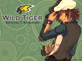 Wild Tiger by LordMaru4U