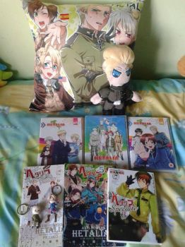Hetalia stuff by Laineyfantasy