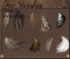 Brushes: FUR 1 by Snow-Body