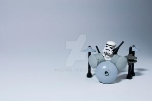 Storm Trooper Drummer by StewNor
