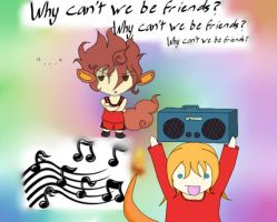 Why Can't We Be Friends? by MatsuKami