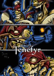 Heroes of Tenefyr - Kobolds by JimmyNijs