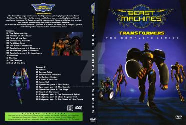 Custom Beast Machines Cover by Darkwolf-Howling