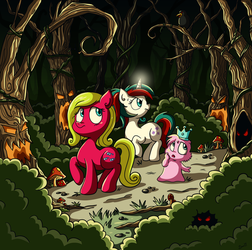 Lost In The Forest - Redo by xkappax