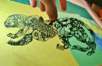 Jaguar PAPER CUTTING by Snowboardleopard