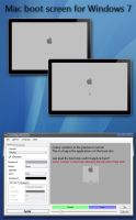 Mac style boot skin for WIndows 7 by xxx2806