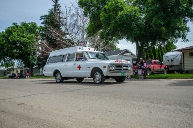Classic Ambulance Stock by mindym306