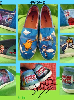 Adventure Time Shoes 2 by juniperjadelove