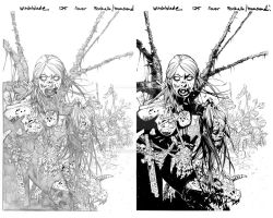 Witchblade 125 cover B