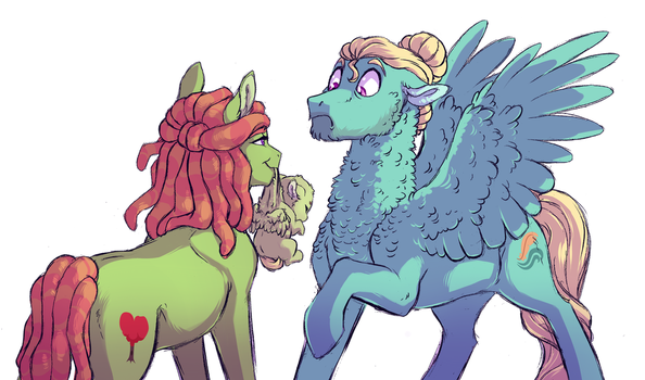 First Meeting by Lopoddity