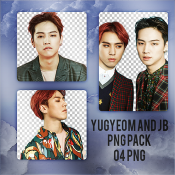 Yugyeom and JB PNG Pack by exostangalaxy