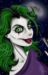 Me as The Joker by AlexaWayne