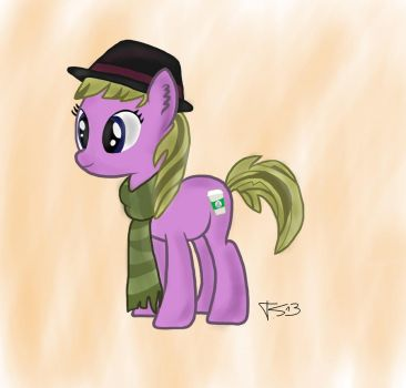 Hipster pony by cloudcore