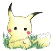 I believe... its a pikachu by CookieSniper