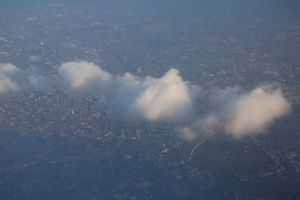 This is London... from the sky by Curri-chan