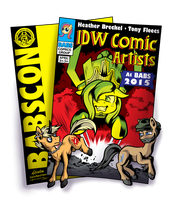 IDW Guest Announcement for BABSCon 2015 by SouthParkTaoist