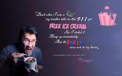 Markiplier Memory - Illegal Ice Cream by sweetzerlandia