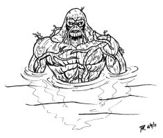 DSC Swamp Thing by oginmysoul