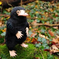 Poseable Art Doll, Niffler by FellKunst