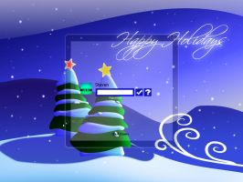 Happy Holidays LOGON XP by DigitalPhenom