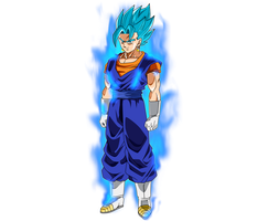 Vegetto SSJ Blue #3 + KI by SaoDVD