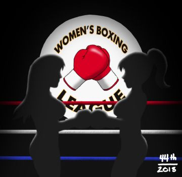 Womens Boxing League by 44th-Phantome