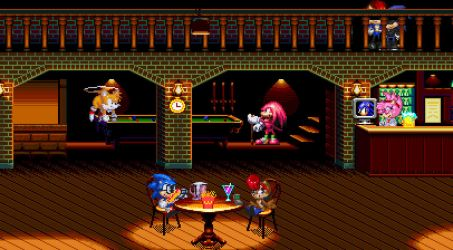 Sonic And Sally: And The Streets Of Rage: Retake.. by ClassicSonicSatAm