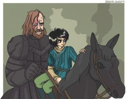 The Wolf and the Hound by SakariSingh