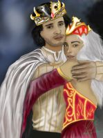 The Queen and King of Westeros by Zutarafan1993