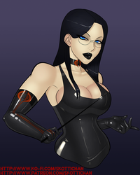 Patreon Commission - Baroness by LexiKimble
