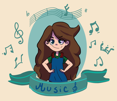 Music lover by IvanKeno666