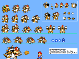 MLBIS Meowser/Cat-Bowser by TheGreatGBA